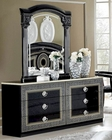 Classic Double Dresser and Mirror Made in Italy Aida 33190AD
