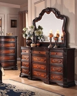 Classic Dresser w/ Mirror Le Havre by Acme Furniture AC22405DM