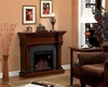 "Classic Flame 38"" Electric Fireplace Marthas Vineyard TS-18DM2105-M319"
