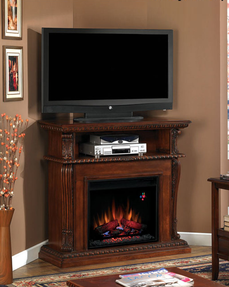 Classic Flame 42 Fireplace Tv Console Corinth Ts 23de1447