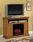 "Classic Flame 47"" Fireplace TV Console Cannes TS-23MM378"