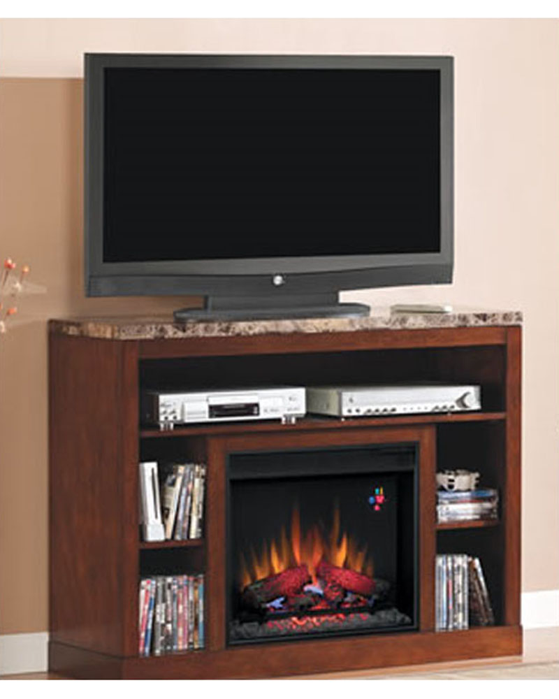 Classic Flame 48 Quot Fireplace Tv Console Adams Ts 23mm1824