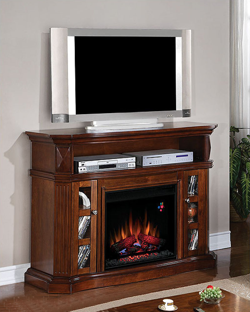 Classic Flame 54 Fireplace Tv Console Bellemeade Ts 23mm774