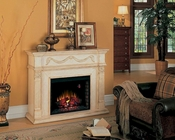 "Classic Flame 55"" Electric Fireplace Gossamer TS-28WM184-T408"