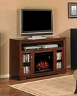"Classic Flame 56"" Fireplace TV Console Palisades TS-23MM070-C244"