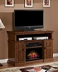 """Classic Flame 56"""" TV Console Sterling TS-23IM0468-W502"""