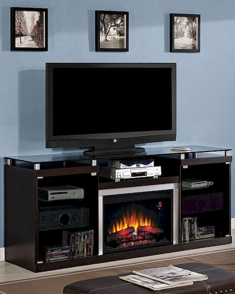 "Classic Flame 72"" Fireplace TV Console Albright TS-26MM9404-E451 - Classic Flame 72"" Fireplace TV Console Albright TS-26MM9404-E451. The modern ..."