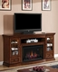 "Classic Flame 72"" Fireplace TV Console Seagate TS-32MM4486-P239"