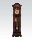 Classic Grandfather Clock in Cherry by Acme Furniture AC01430
