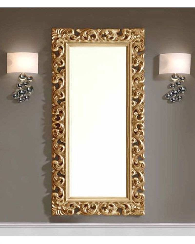 classic square 75in mirror 33c24