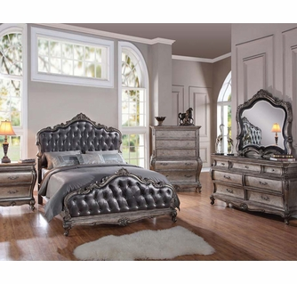 Classic Style Bedroom Set Chantelle by Acme Furniture AC20540SET