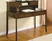 Classic Writing Desk with Small Storage Hutch CO800769