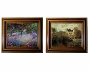 Claude Monet Artists Garden 2pc Set