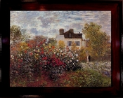 Claude Monet Artists Garden at Argenteuil