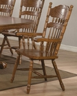 *Coaster Arm Chair w/ Turned Spindles Brooks CO-104273 (Set of 2)