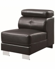 Coaster Armless Chair w/ AdjusTable Headrests Ralston CO-503625-AC