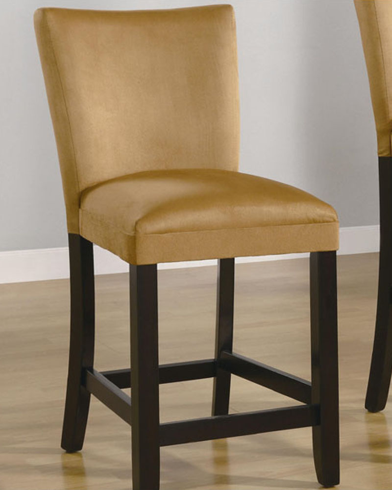 Coaster Bar Stool Bloomfield In Yellow Co 100589ylw Set Of 2