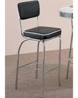 Coaster Bar Stool w/ Black Cushion Cleveland CO-2045 (Set of 2)