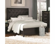 Coaster Bed w/ Button Tufted Headboard Devine CO-203121BED