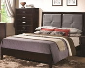 Coaster Bed w/ Padded Headboard Andreas CO-202471BED