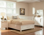 Coaster Sandy Beach Bedroom Set White CO-201309Set
