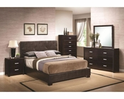 Coaster Bedroom Set w/ Vinyl Padded Headboard Andreas CO-202470Set