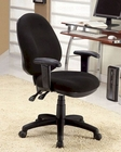 Coaster Black Fabric Office Chair CO-800014