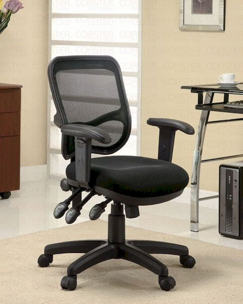 Coaster Black Office Chair Co 800019