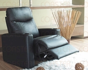 *Coaster -  Black Recliner CO-7537R