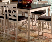 Coaster Camille Transitional Counter Height Dining Table CO-103588