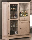 Coaster Camille Transitional White Bar Curio Cabinet CO-103584