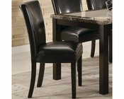Coaster CArter Dining Side Chair in Black CO-102262 (Set of 2)