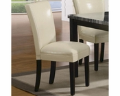 Coaster CArter Dining Side Chair in Cream CO-102264 (Set of 2)