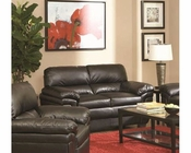 Coaster Casual Leather-Like Love Seat Fenmore CO-502952