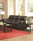 Coaster Casual Leather-Like Sofa Fenmore CO-502951