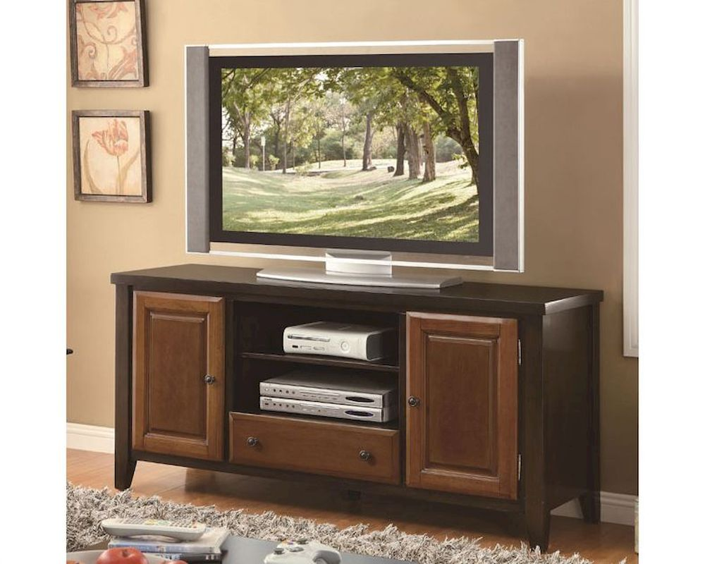 sc 1 st  Home Furniture Mart & Coaster Casual TV Console w/ Beveled Doors CO-700731