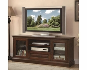 Coaster Casual TV Console w/ Glass Doors CO-700905