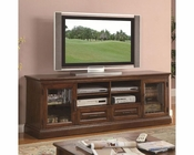 Coaster Casual TV Console w/ Glass Doors CO-700906