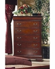 Coaster Louis Philippe Chest in Cherry CO-200435