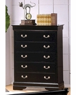 Coaster Louis Philippe Chest in Black CO-201075