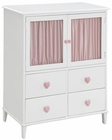 Coaster Chest w/ Two Doors and Heart Shaped Knobs Juliette CO-400576
