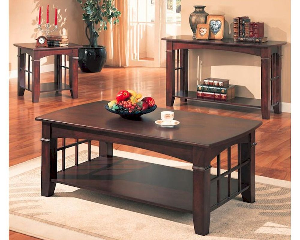 Coaster coffee table set abernathy co 700008set geotapseo Image collections