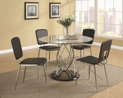 Coaster Contemporary Dining Set Ciccone CO-120990Set