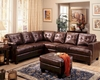 Coaster Contemporary Leather Sectional Sofa Samuel CO-5009-SS
