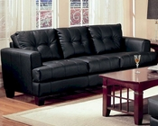 Coaster Contemporary Leather Sofa Samuel CO-5016-S