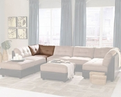 Coaster Contemporary Sofa Corner Claude CO-551002
