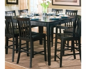 Coaster Counter Height Dining Leg Table w/ Leaf Pines CO-101038