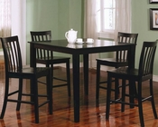 Coaster Counter Height Dining Set Ashland CO-150231BLK-Set
