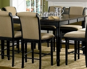 Coaster Counter Height Dining Table w/ Leaf Cabrillo CO-101828