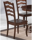 Coaster Dining Chair w/ Shaped Ladder Back Davis CO-103912 (Set of 2)